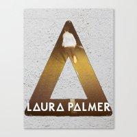 laura palmer Canvas Prints featuring Bastille #1 Laura Palmer by Thafrayer
