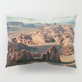 Monument Valley Overview Pillow Sham