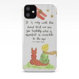 The Little Prince Quote art iPhone Case