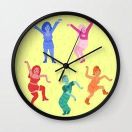 dancing queens  Wall Clock