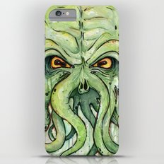 Cthulhu HP Lovecraft Green Monster Tentacles Slim Case iPhone 6 Plus