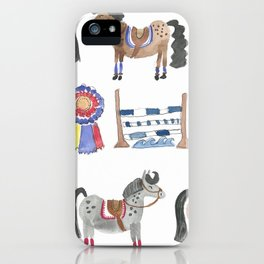 Jumper Ponies iPhone Case