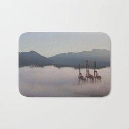 Burrard Inlet Fog Bath Mat