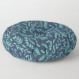 Leaves A Plenty Floor Pillow