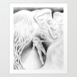 Lightsleeper Art Print