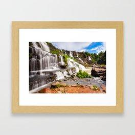 Pongour waterfall, Dalat, Vietnam Framed Art Print