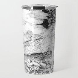 "untitled l ,series ""Illustration from a lost novel"" Travel Mug"