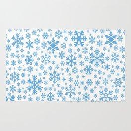snow flake Rug
