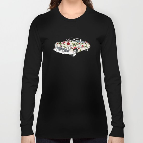 Blossom car Long Sleeve T-shirt