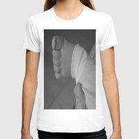 feet T-shirts featuring Feet by EnelBosqueEncantado