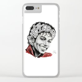MJ The G.O.A.T. Clear iPhone Case