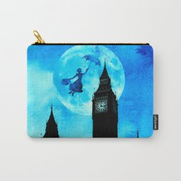 Magical Watercolor Night - Mary Poppins Carry-All Pouch
