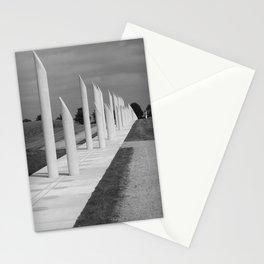 Jelling palisade monument, Jutland, Denmark Stationery Cards