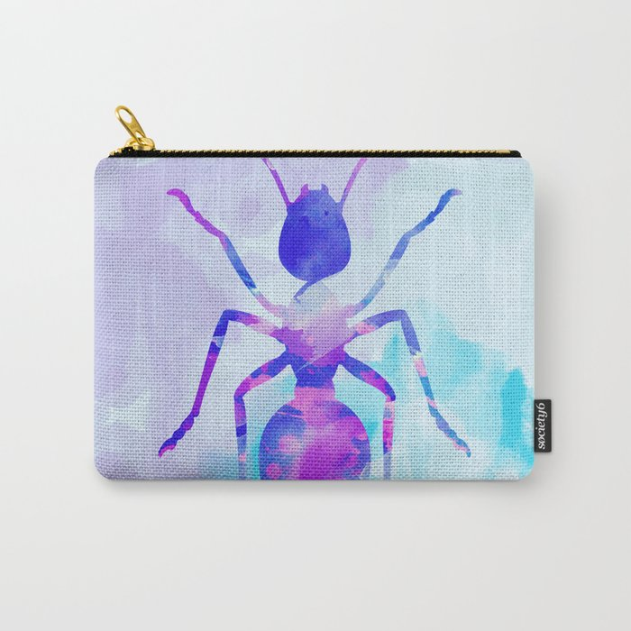 Abstract Ant Carry-All Pouch