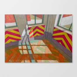 Abandoned room III Canvas Print