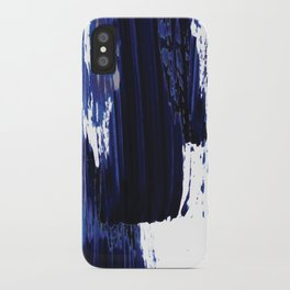 Blue mood iPhone Case