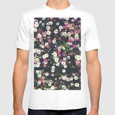 Flowers  Mens Fitted Tee White MEDIUM