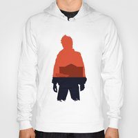 marty mcfly Hoodies featuring Marty! by JM Illustration