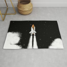 Shuttle Launch Rug