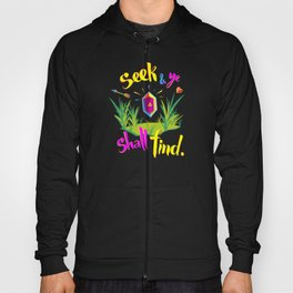 Legend of Zelda Seek and Ye Shall Find Hoody
