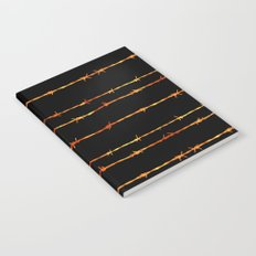 Barbed wire Notebook