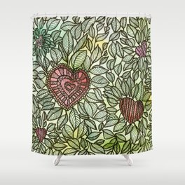 GARDEN OF KINDNESS Shower Curtain