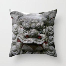 SHITENNOJI, OSAKA Throw Pillow