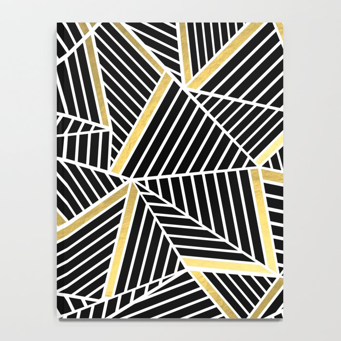 Ab Lines 2 Gold Notebook
