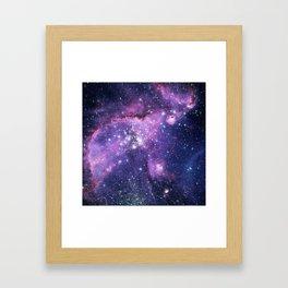 Small Magellanic Cloud Framed Art Print