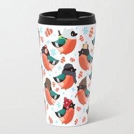 The bullfinches Travel Mug