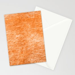 Neon Orange Textured Metallic Foil Stationery Cards