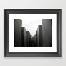 Holocaust Memorial, Berlin #1 Framed Art Print