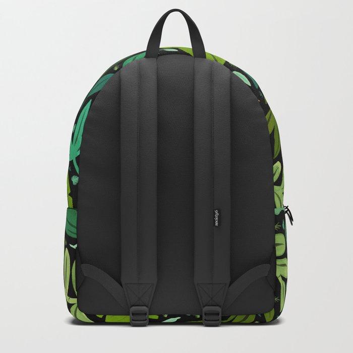 Green Scatter Backpack