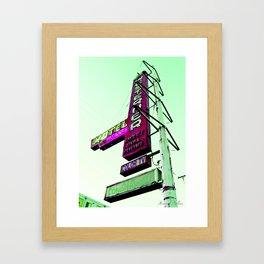 Hotel Motel Framed Art Print