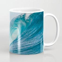 Crashing barrel wave in the Pacific Ocean Coffee Mug