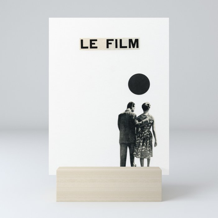 Le Film Mini Art Print