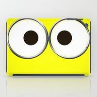 minion iPad Cases featuring minion by cbrocoff