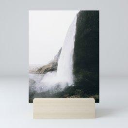 Waterfall II / Seljalandsfoss, Iceland Mini Art Print