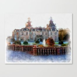 CHATEAU DE MODAVE Canvas Print