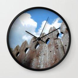 SMALL TOWN SKY 4 Wall Clock