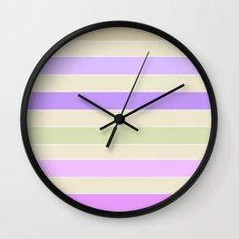 Leela 1 . Pastel Wall Clock