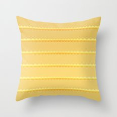 Tagged Gold no11 Throw Pillow