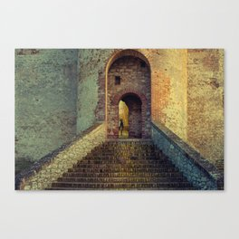 Medieval Fortress Canvas Print
