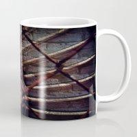 industrial Mugs featuring Industrial by KunstFabrik_StaticMovement Manu Jobst
