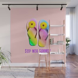 Step into Summer! Wall Mural