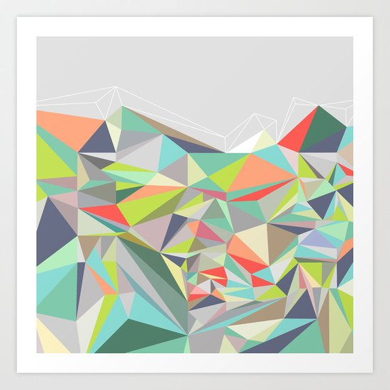 Graphic 199 Art Print