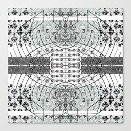 Transverse Vibration 3 Canvas Print