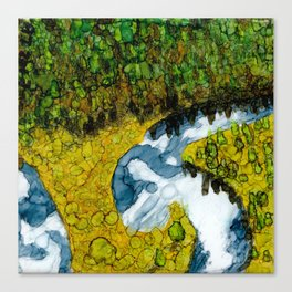 Idyllic Reflections Canvas Print