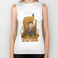 adventure is out there Biker Tanks featuring Adventure by BlancaJP