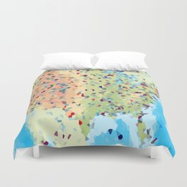 USA America Geometric Abstract Duvet Cover